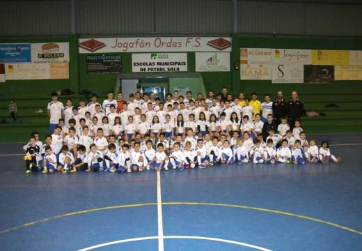 Presentación oficial do Jogafán F. S. e das aliñacións das escolas deportivas de fútbol sala