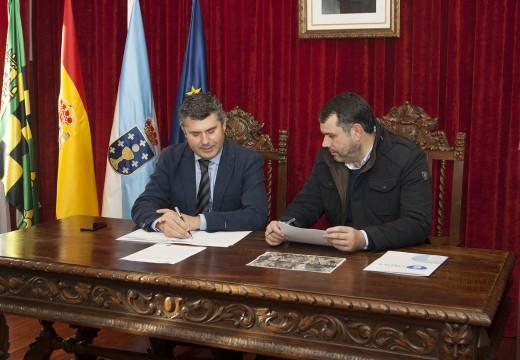 O delegado provincial da Xunta realiza unha visita institucional ao Concello de Ordes