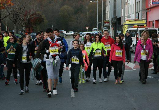 300 atletas participan no VIII Cros Ambiental e a IV Andaina Concello de Ordes