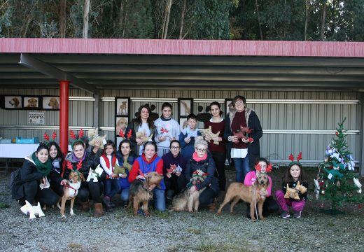 A II Festa dos cans consegue fogar para outros catro exemplares da canceira de Ordes