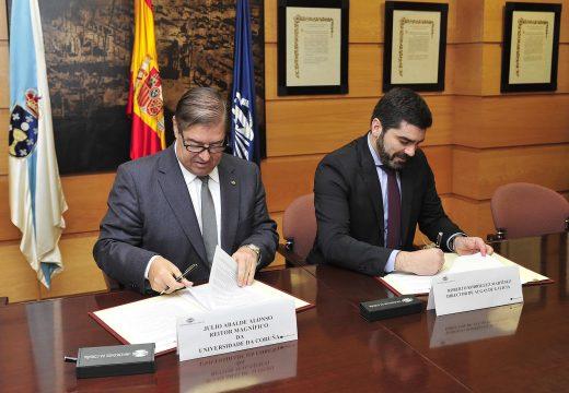 Augas de Galicia e a Universidade da Coruña colaborarán para achegar o ámbito profesional e o académico