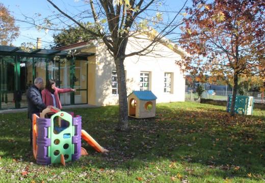 O Concello de Oroso inviste máis de 33.000 euros en melloras na gardería da Ulloa