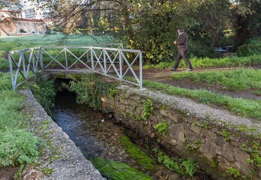 O Concello cuantifica en 60.000 euros a mellora ambiental e da accesibilidade do parque liñal do Cádavo
