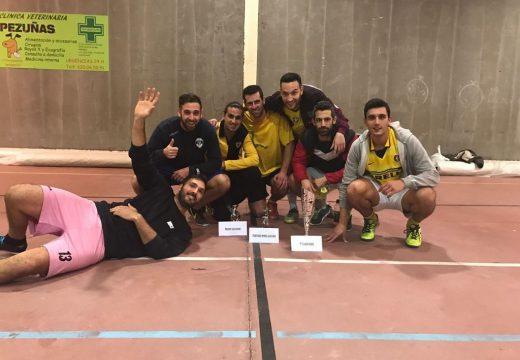 O Orchestra Mondragón proclámase campión do Torneo Do Nadal de Fútbol sala de Carral