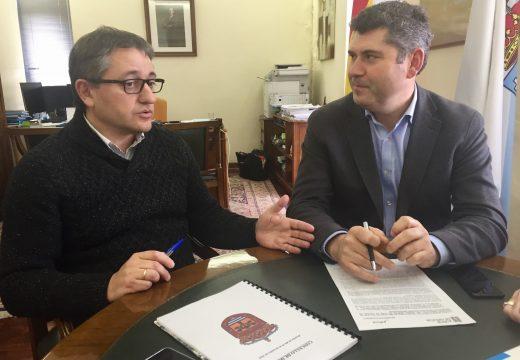 A Xunta inviste preto de 120.000 euros na mellora da vía sur do polígono industrial de Dodro, dentro do plan de axudas ás infraestruturas dos parques empresariais