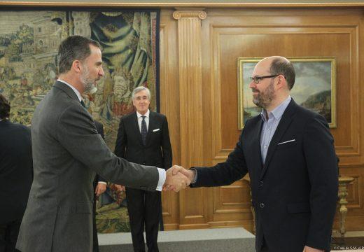 Felipe VI recibe os alcaldes e alcaldesas das cidades Patrimonio da Humanidade