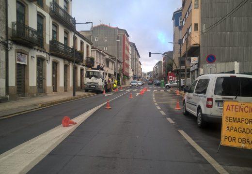 Ordes inviste preto de 40.000 € na renovación da súa rede semafórica