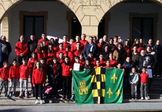 O Concello de Ordes honra ao Club Boudsport de taekwondo