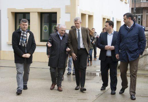 O vicepresidente da Xunta de Galicia visita o CIM de Ordes