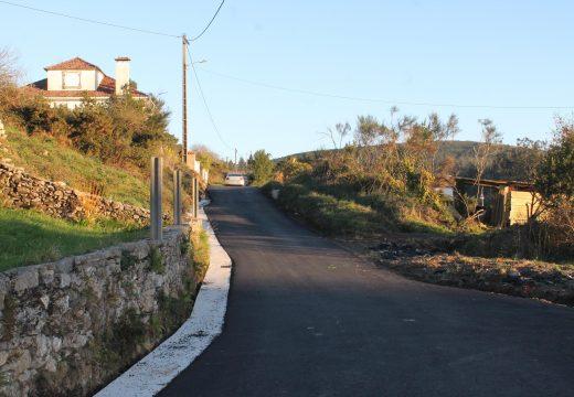 O Concello de Lousame inviste 43.000 euros na mellora dos accesos a San Xusto e Fontefría