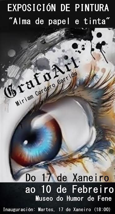 «GrafoArt. Alma en papel e tinta», ata o 10 de febreiro na Casa da Cultura de Fene