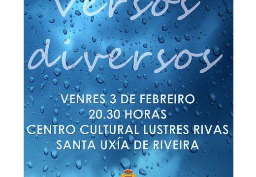 "Presentación do libro ""Versos Diversos"" de Ignacio Lens, este venres no Lustres Rivas"