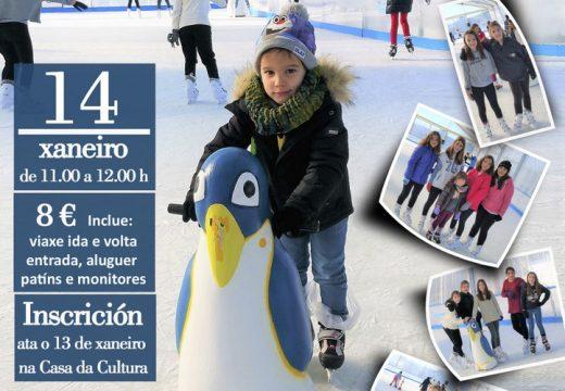 Nenos e nenas de Carral acudirán este sábado á pista de xeo