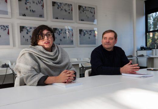 A investigadora María Lois presenta en Fene o seu estudo sobre o nacionalismo no concello