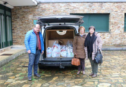 O Concello de Frades agradece a colaboración da veciñanza, que duplicou as doazóns de alimentos para familias necesitadas