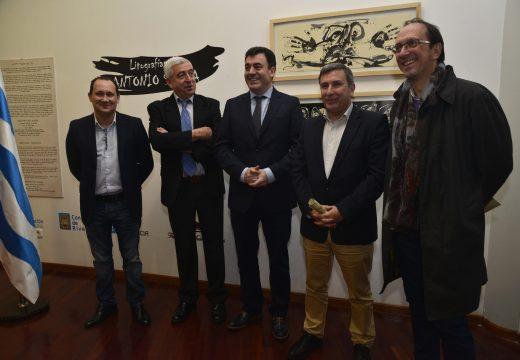 29 litografías compoñen a exposición de Antonio Saura que estrea a programación anual do Museo do Gravado de Artes
