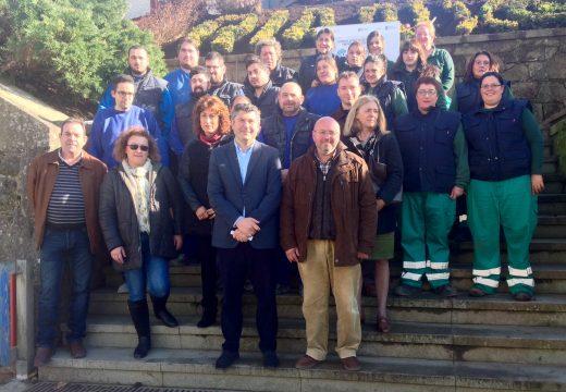 A Xunta apoia o obradoiro de emprego de Rianxo para ampliar as oportunidades laborais de 20 persoas nas especialidades de albanelería e instalación e mantemento de xardíns