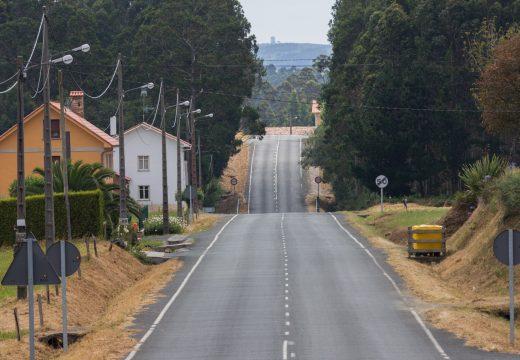 A Deputación da Coruña adxudica as obras das sendas peonís de Silvalonga e Santa Mariña do Monte