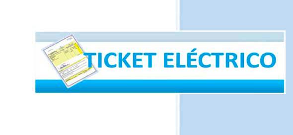 Tícket eléctrico social 2017