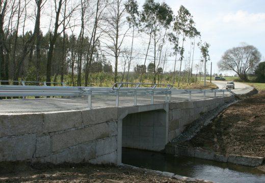 Aberta ao tráfico a  nova Ponte do Melante, na parroquia de Vilamaior