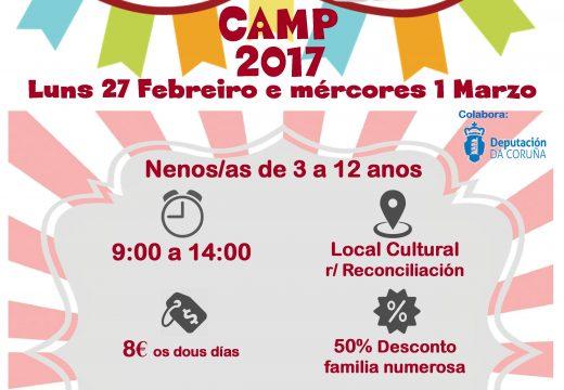 Aberto o prazo de inscrición para o 'Carnival Camp'