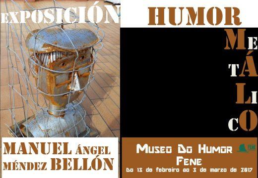 """O """"Humor metálico"""" de Manuel A. Méndez ocupará ata primeiros de marzo a sala de exposicións temporais da Casa da Cultura de Fene"""