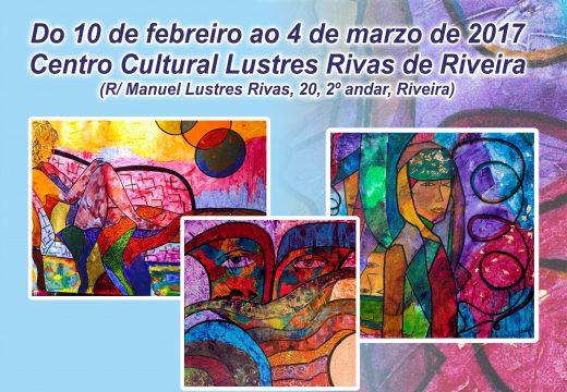"""O Centro Cultural Lustres Rivas de Riveira albergará a partir deste venres a exposición """"Estilos"""" de novais"""