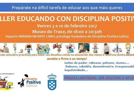 Charla gratuíta 'Educando con disciplina positiva'