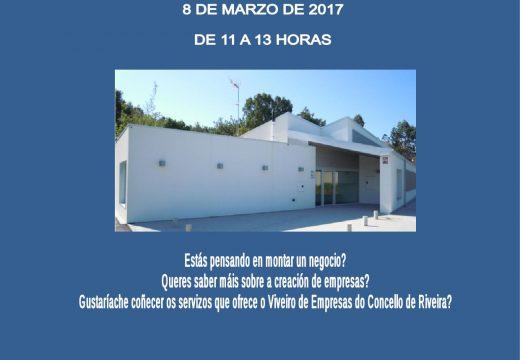 Concello e Cámara de Comercio de Santiago organizan unha charla sobre autoemprego no Viveiro de Empresas de Riveira