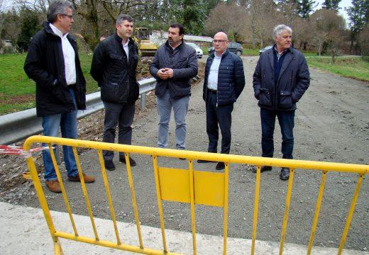A Xunta destinou 54.000 euros do plan de emerxencia 2016 á recuperación do pontón sobre o río samo, no concello de Mesía