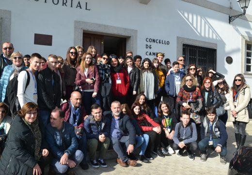 Cambre acolle a 30 alumnos europeos dentro dunhas xornadas de convivencia escolar y mediación