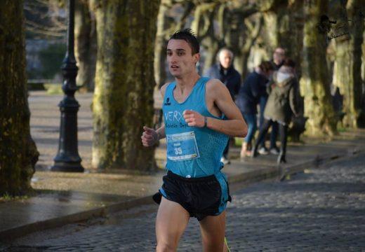 David Santos, segundo no X Campionato de Galicia de 10 km en ruta