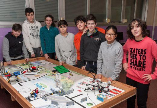 """""""Sansabotics 2.0"""", esperanza de San Sadurniño para a FIRST Lego League deste sábado en Ferrol"""