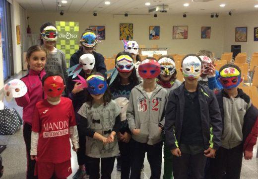 O Obradoiro de Máscaras abre o Programa de Entroido do Concello de Oroso