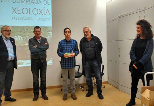 Un alumno do IES de Brión, logra un accésit na fase galega da VIII Olimpíada de Xeoloxía