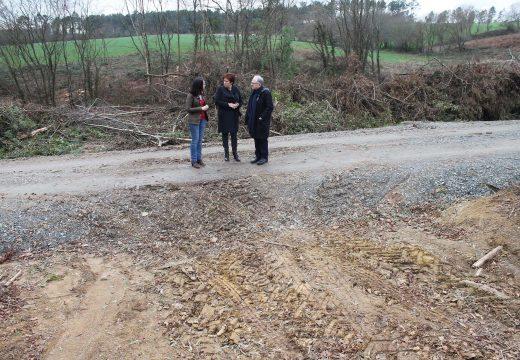 O PSOE insta á Consellería de Medio Rural a arranxar os problemas nos accesos ás fincas da concentración parcelaria Parada II (Ordes)