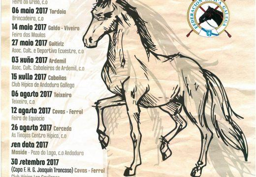 Ordes acollerá dúas probas puntuables para o XX Campionato Galego de Andadura