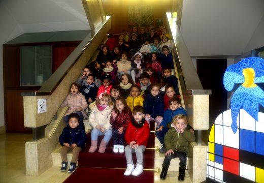 Máis de 600 rapaces visitaron no que vai de ano diversas instalacións municipais no marco da iniciativa Coñece o teu contorno