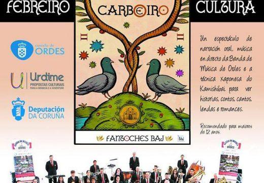 As pombas do carboeiro, este domingo na Casa da Cultura