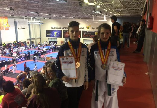 A ordense Carla Diéguez é nova a subcampioa de España de taekwondo
