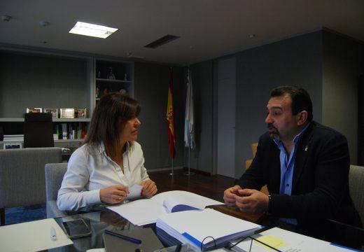 Medio Ambiente colaborará na mellora do abastecemento do concello de Mesía