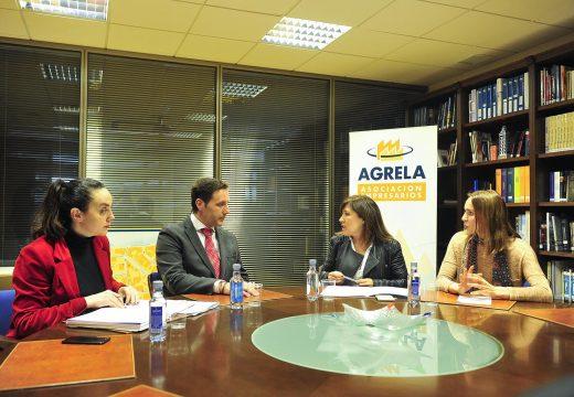 Beatriz Mato invita aos empresarios do Polígono de Agrela a apostar pola economía circular como fonte de oportunidades de emprego verde
