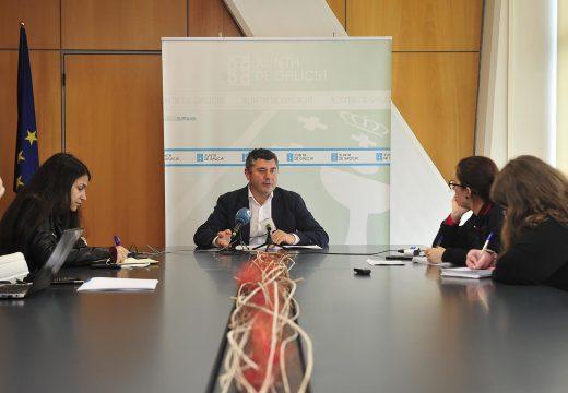 """O delegado territorial na Coruña asegura que as políticas sociais son, a día de hoxe, """"a obsesión da Xunta de Galicia»"""