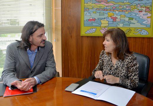 A conselleira de Medio Ambiente pecha a rolda para o fomento da economía circular cunha reunión coa Asociación de Xóvenes Empresarios da Coruña