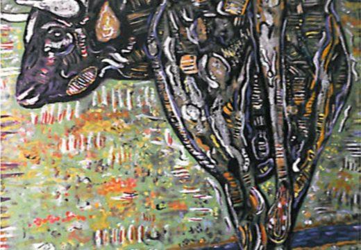 O pintor estradense Manuel González Vigo expón 22 das súas obras no centro cultural de Sigüeiro ata o 31 de marzo