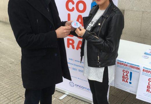 Susana Seivane pedía hoxe en Cambre a  colaboración na investigación sobre a biopsia líquida de Oncomet