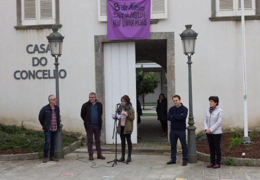 San Sadurniño reivindica no 8 de marzo a igualdade e o cesamento da violencia contra da muller