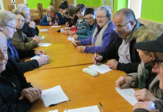Empezan en San Sadurniño os obradoiros de memoria activa para persoas maiores