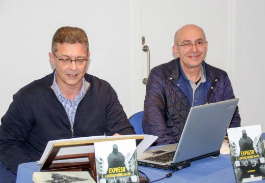 """Xulio Cid Neira presentou en Brión o seu último libro de poesía """"Expreso e outros poemas da vía"""""""