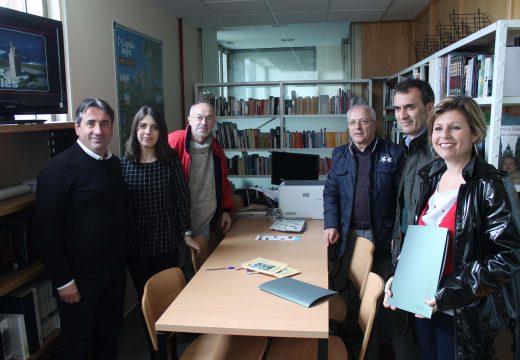 Unha delegación do Concello de Tui visita Oroso para intercambiar experiencias sobre a recuperación e promoción dos Camiños Xacobeos